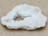 White Druzy Agate Pendant 67mm (GSP1020)