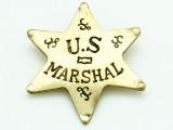 U.S. Marshall Metal Badge 64mm (AP1841)