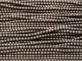 Bronze Hematite Tube Gemstone Beads 1-2mm (GS3704)