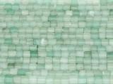 Aventurine Irregular Cube Gemstone Beads 3-4mm (GS3714)