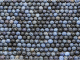 Dumortierite Irregular Round Gemstone Beads 3-4mm (GS3717)