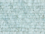 Aquamarine Square Heishi Gemstone Beads 3-6mm (GS3742)