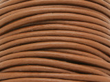 "Light Brown Leather Cord 3mm - 36"" (LR78)"