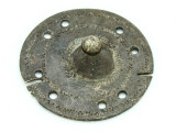 Old Brass Medallion 46mm - Ethiopia (ME417)