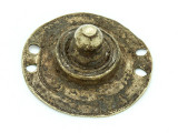 Old Brass Medallion 50mm - Ethiopia (ME419)