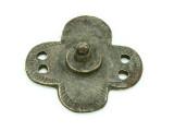 Old Brass Medallion 39mm - Ethiopia (ME433)