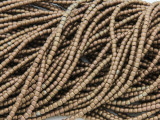 Bronze Hematite Barrel Gemstone Beads 2mm (GS3777)
