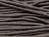 Dark Bronze Electroplated Hematite Heishi Gemstone Beads 4mm (GS3801)
