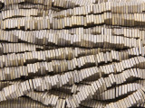 Bronze Hematite Square Heishi Gemstone Beads 4mm (GS3803)