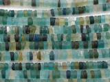 Afghan Ancient Roman Glass Heishi Beads 4-6mm (AF1421)