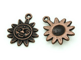Copper Sun - Pewter Charm 20mm (PW1174)