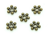Brass Pewter Spacer Bead 8mm (PB700)