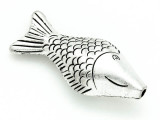 Fish - Pewter Pendant 52mm (PW800)