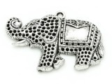 Elephant - Pewter Pendant 46mm (PW833)