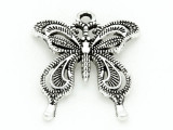 Butterfly - Pewter Pendant 26mm (PW839)