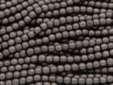 Dark Bronze Electroplated Hematite Round Gemstone Beads 4mm (GS3828)