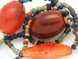 Old Antique Burmese Glass Beads (RF765)