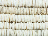 Old Ostrich Egg Shell Disc Beads 8-14mm - Africa (AT6996)
