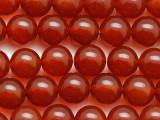 Carnelian Agate Round Gemstone Beads 10mm (GS3963)