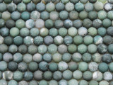 Moss Agate Round Gemstone Beads 5mm (GS3967)
