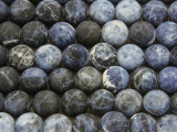 Matte Sodalite Round Gemstone Beads 10mm (GS3969)