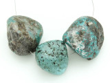 Large Turquoise Focal Beads 20-31mm (TUR1212)