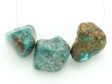 Large Turquoise Focal Beads 24-29mm (TUR1217)