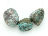 Large Turquoise Focal Beads 21-34mm (TUR1218)
