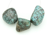 Large Turquoise Focal Beads 18-35mm (TUR1226)