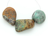 Large Turquoise Focal Beads 17-38mm (TUR1233)