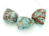 Large Turquoise Focal Beads 19-36mm (TUR1275)
