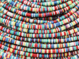 Assorted Vinyl Disc Beads 3mm (VY222)