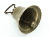 Large Tarnished Metal Bell 66mm - Ethiopia (ME442)