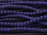 Cobalt Blue Glass Maasai Trade Beads 5-6mm (AT7184)