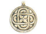 Tibetan Brass Pendant 50mm (TB290)