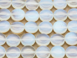 Opalite Round Tabular Gemstone Beads 11mm (GS4080)