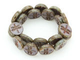 Czech Glass Beads 17mm (CZ1072)