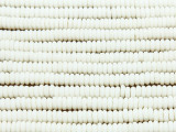 Natural Disc Spacer Bone Beads 5mm (B9052)