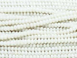 Natural Bamboo Coral Faceted Rondelle Beads 5mm (CO545)