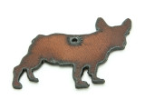French Bulldog - Rustic Iron Pendant (IR195)