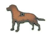 Labrador Retriever - Rustic Iron Pendant (IR196)