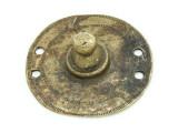 Old Brass Medallion 54mm - Ethiopia (ME444)