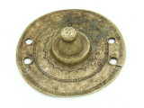 Old Brass Medallion 55mm - Ethiopia (ME449)