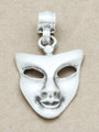 Mask Metal Pendant 47mm (AP1906)