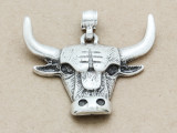 Bull Metal Pendant 56mm (AP1907)
