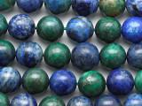 Azurite Round Gemstone Beads 10mm (GS4215)