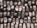 Gunmetal Electroplated Hematite Nugget Gemstone Beads 8-12mm (GS4242)