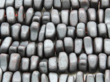 Silver Hematite Nugget Gemstone Beads 8-12mm (GS4246)