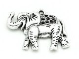 Elephant - Pewter Pendant 38mm (PW883)