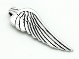 Wing (reversible) - Pewter Pendant 55mm (PW899)